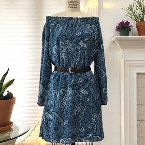 MICHAEL Michael Kors ❤️❤️❤️ Belted Paisley Dress